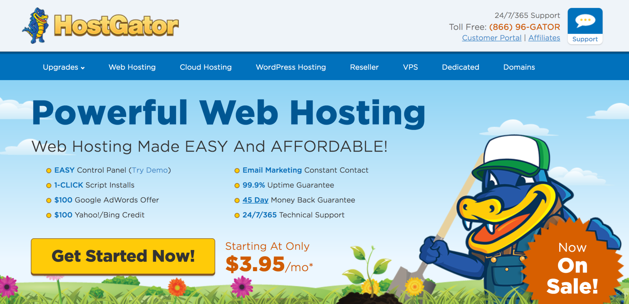 front screen hostgator